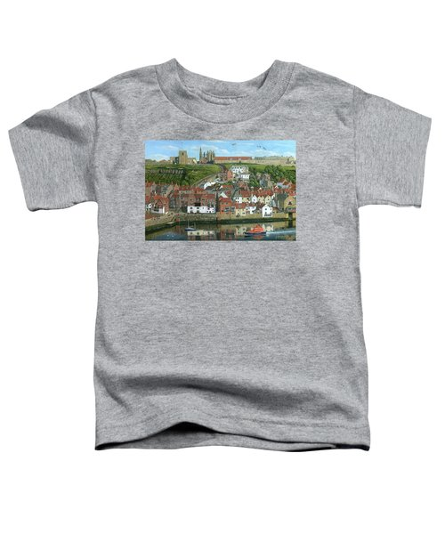 Whitby Harbor North Yorkshire  Toddler T-Shirt