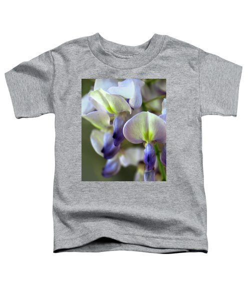Wisteria White And Purple Toddler T-Shirt