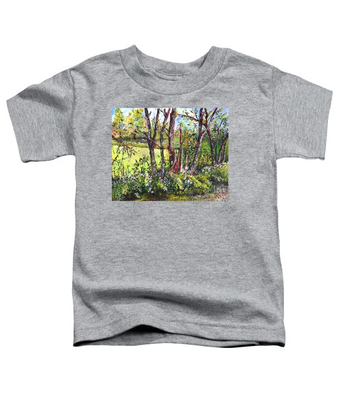 White And Yellow - An Unusual View Toddler T-Shirt