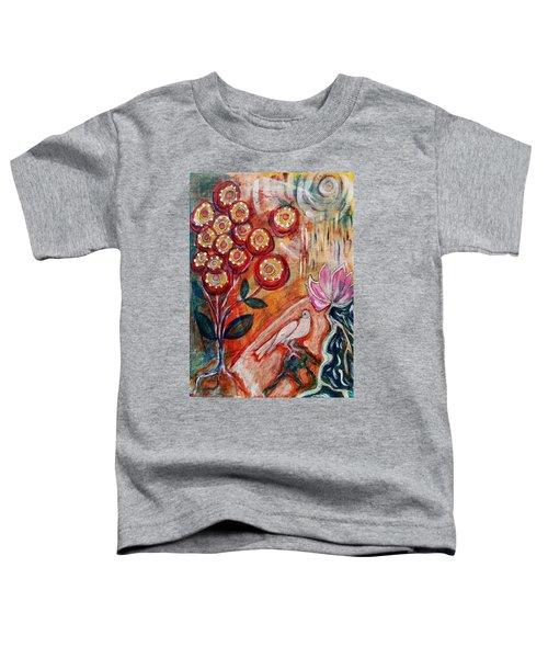 White Bird Toddler T-Shirt