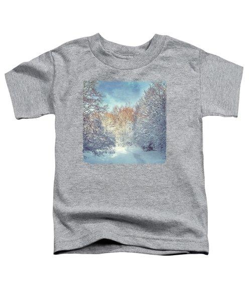 White Blanket - Winter Landscape Toddler T-Shirt