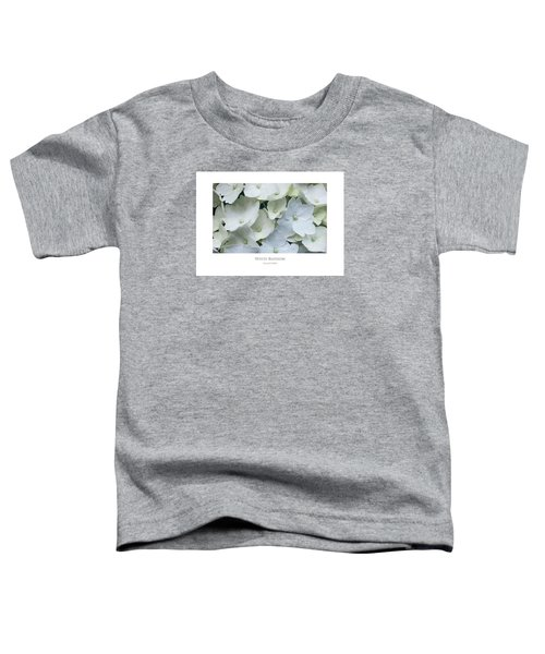 White Blossom Toddler T-Shirt