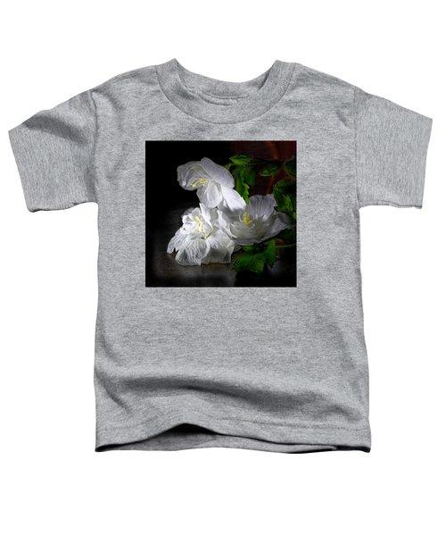 White Blossoms Toddler T-Shirt