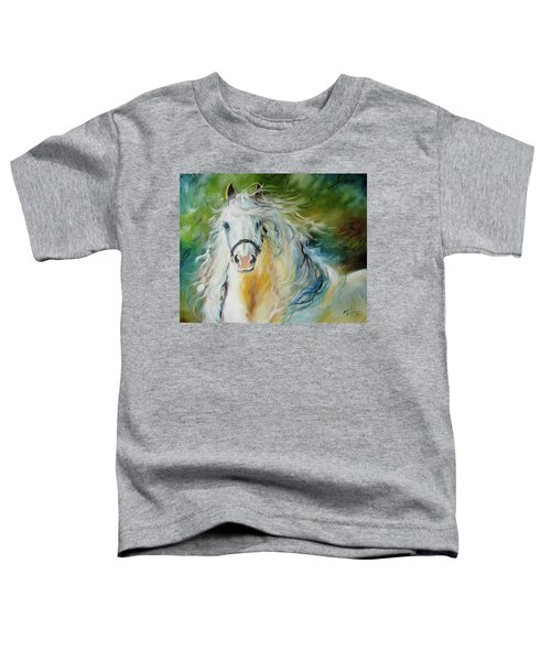 White Cloud The Andalusian Stallion Toddler T-Shirt