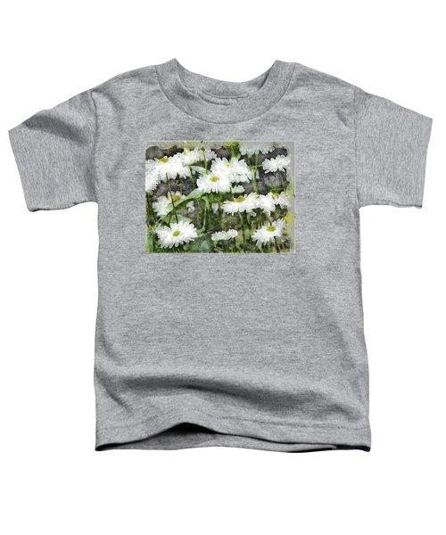 White Drops.. Toddler T-Shirt