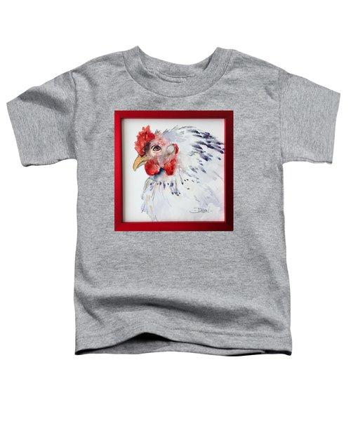White Hen Toddler T-Shirt