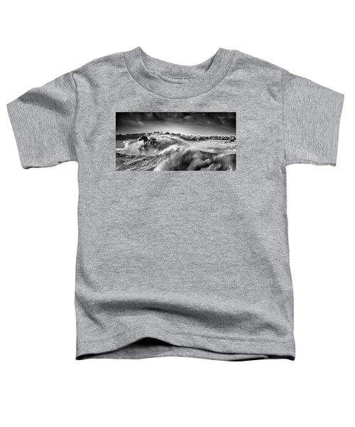 White Horses Toddler T-Shirt