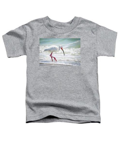 White Ibis Toddler T-Shirt