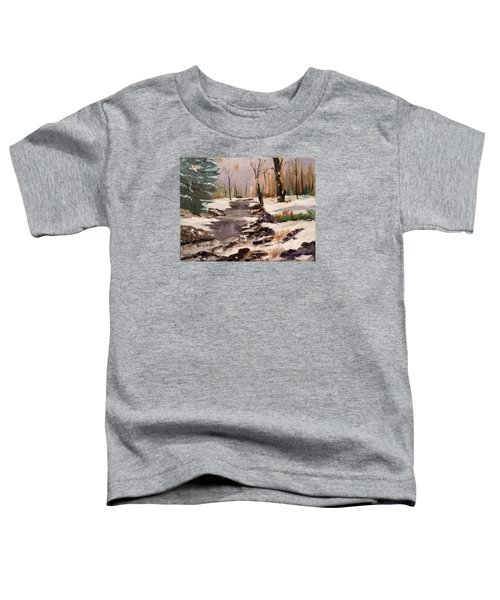 White Mountains Creek Toddler T-Shirt