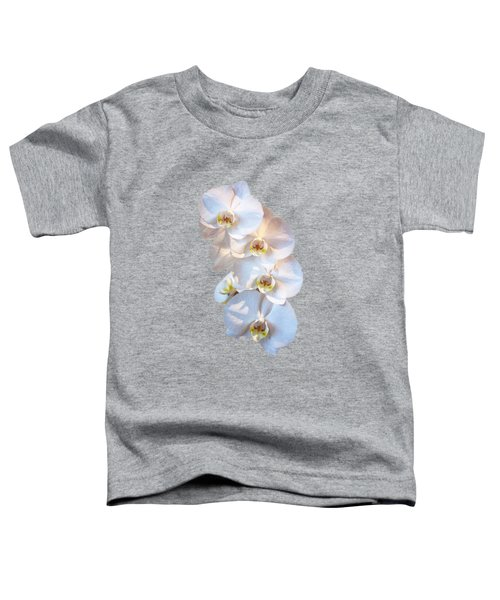 White Orchid Cutout Toddler T-Shirt