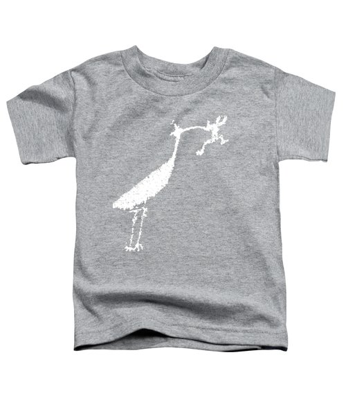 White Petroglyph Toddler T-Shirt