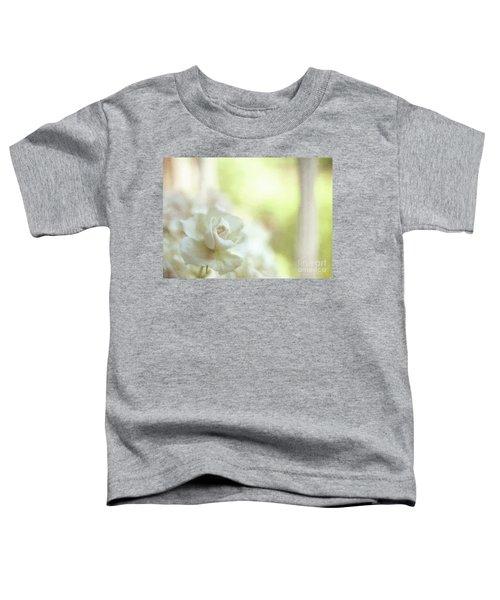 White Rose Toddler T-Shirt