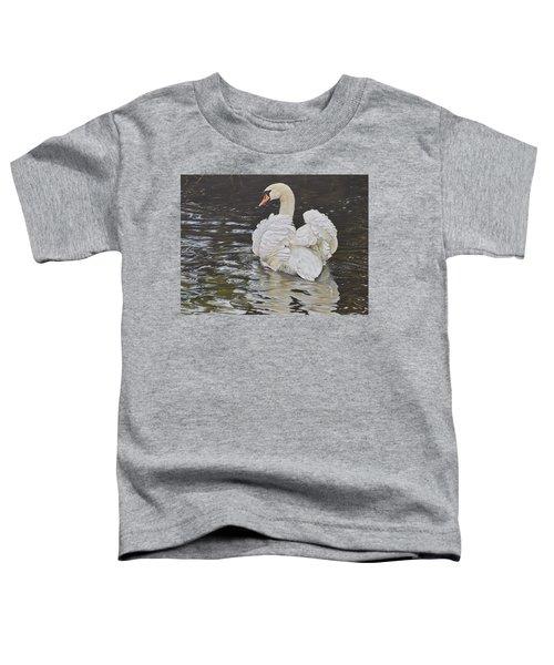 White Swan Toddler T-Shirt