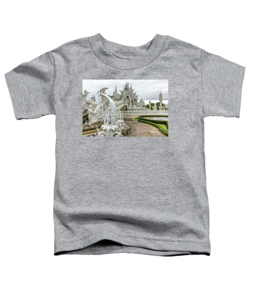 White Temple Thailand Toddler T-Shirt