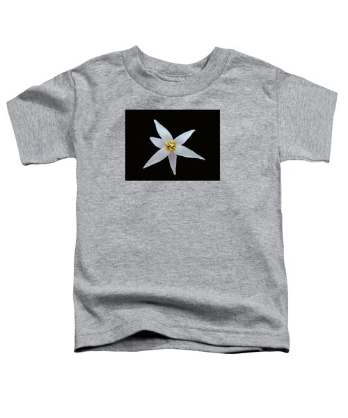 White Trout Lily Toddler T-Shirt
