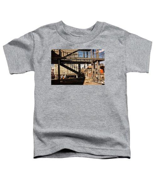 Whitney Terrace Grid Toddler T-Shirt