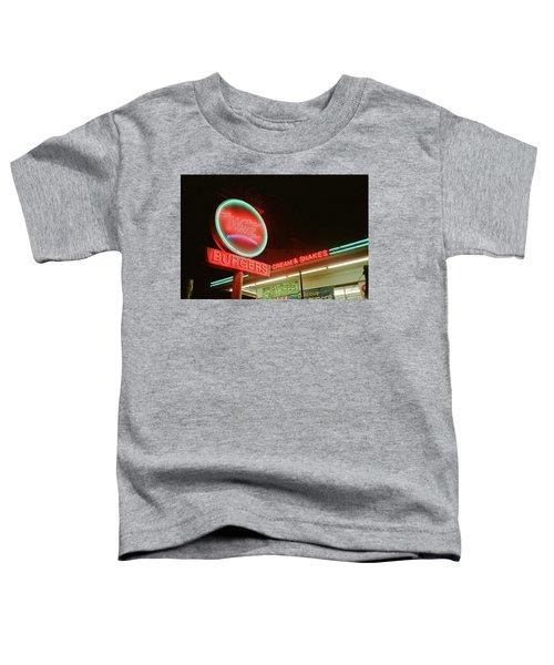 Whiz Burgers Neon, San Francisco Toddler T-Shirt