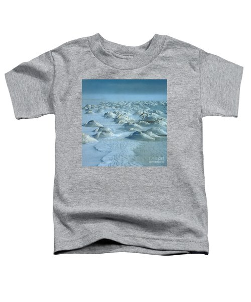 Whooper Swans In Snow Toddler T-Shirt