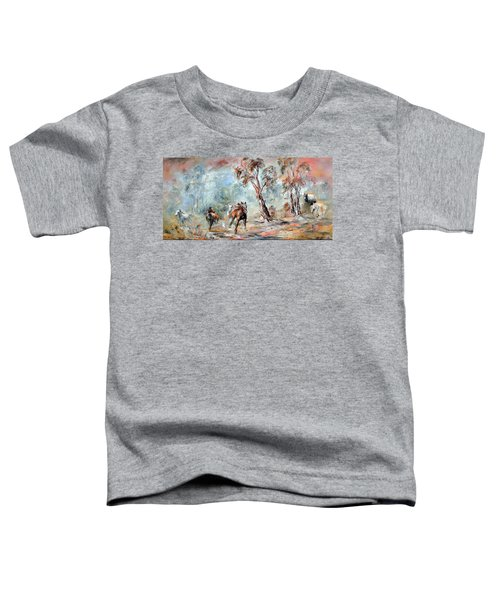 Wild Brumbies Toddler T-Shirt