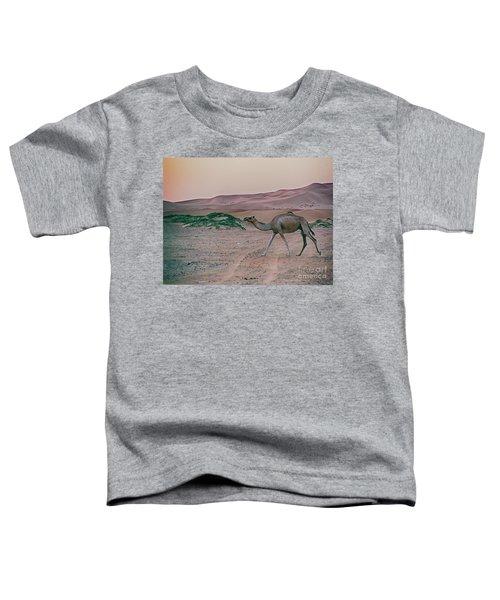 Wild Camel Toddler T-Shirt