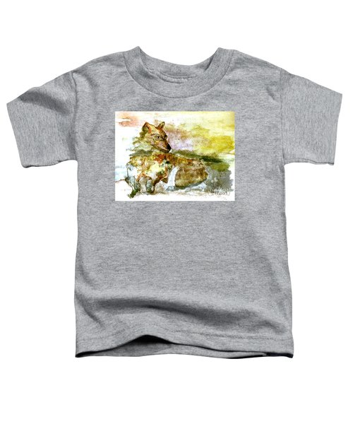 Wild Country Wolf Toddler T-Shirt