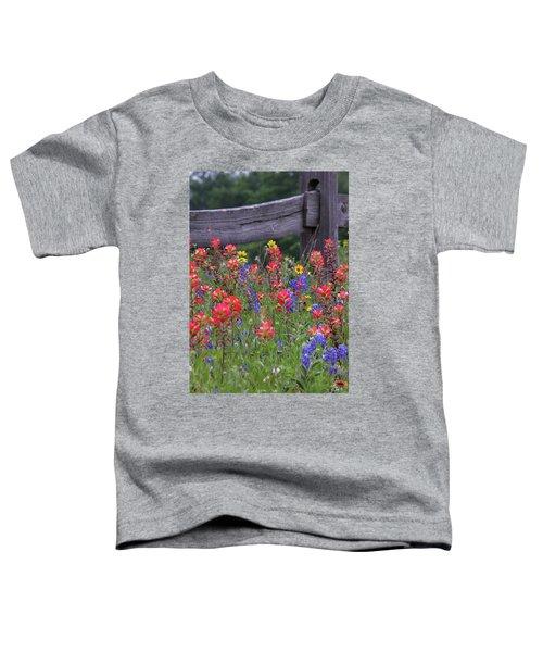 Wild Flowers Toddler T-Shirt