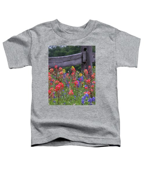 Wild Flowers Toddler T-Shirt