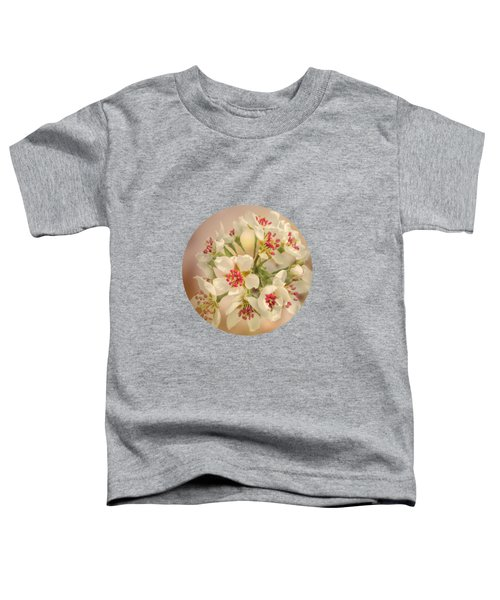 Wild Pear Blossom Toddler T-Shirt