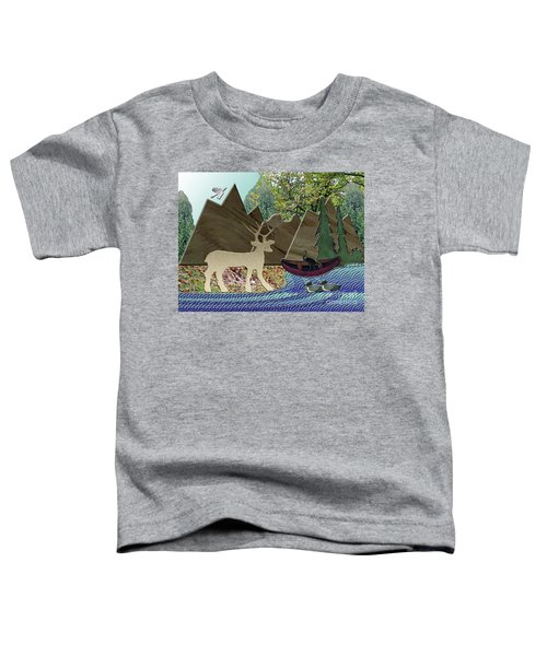 Wild Rural Animals Toddler T-Shirt