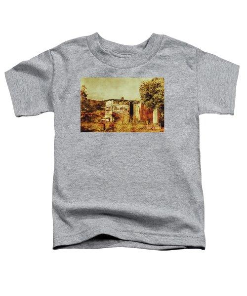 Wild West Australian Barn Toddler T-Shirt