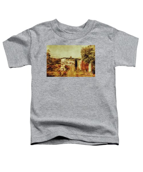 Wild West Australian Barn Toddler T-Shirt