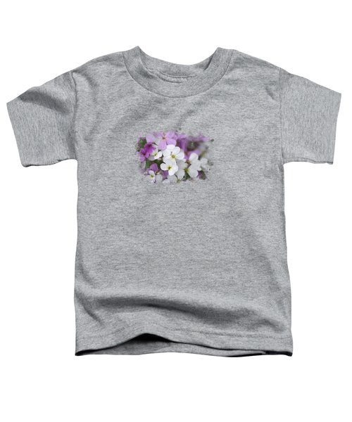 Wildflower Watercolor Art Toddler T-Shirt
