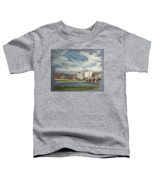 Wilkes-barre And River Toddler T-Shirt