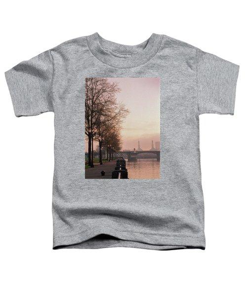 Willamette Riverfront, Portland, Oregon Toddler T-Shirt