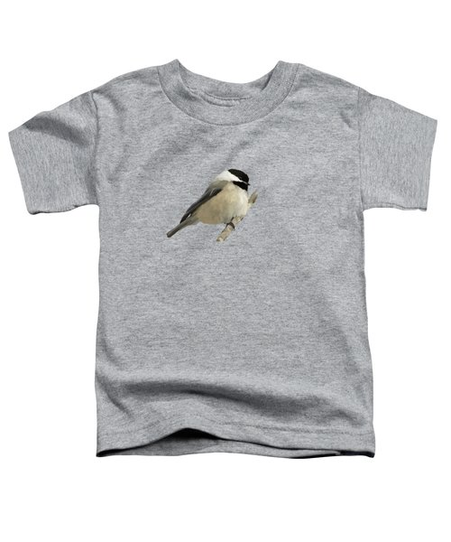 Willow Tit Toddler T-Shirt by Bamalam  Photography