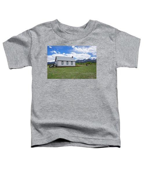Willows School Below The Wet Mountain Range Toddler T-Shirt