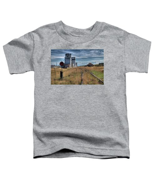 Wilsall Grain Elevators Toddler T-Shirt