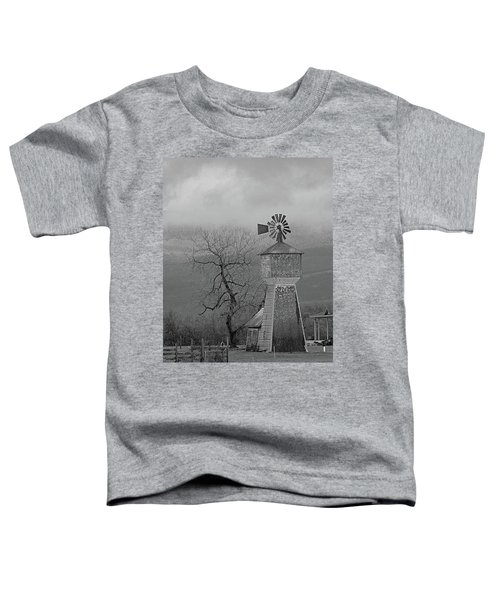 Windmill Of Old Toddler T-Shirt