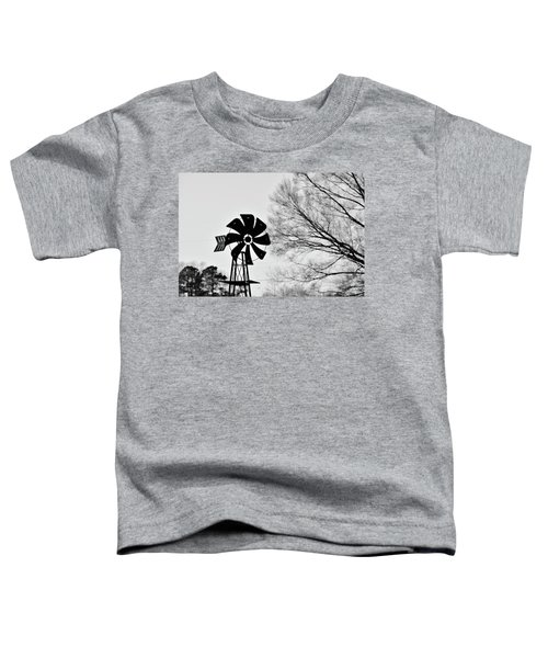 Windmill On The Farm Toddler T-Shirt