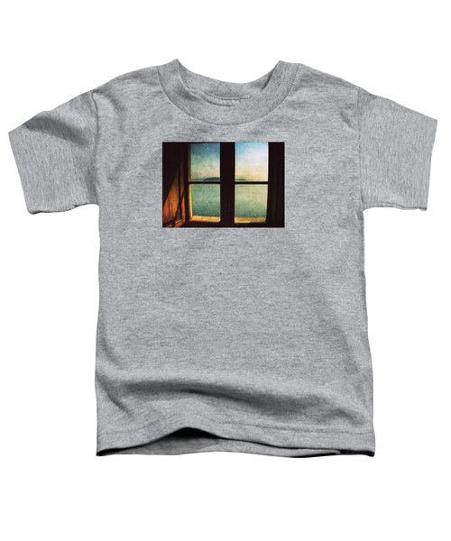 Window Overlooking The Sea Toddler T-Shirt