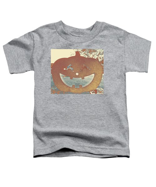 Window Pumpkin #1 Toddler T-Shirt