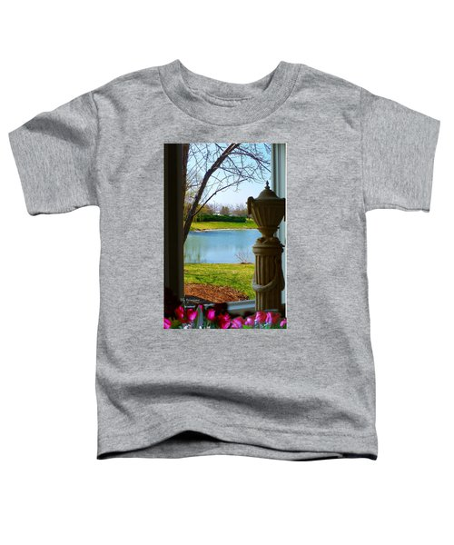 Window View Pond Toddler T-Shirt