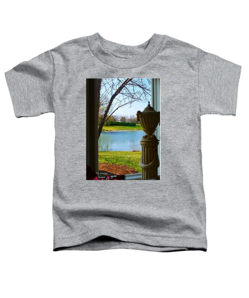 Window View Pond Toddler T-Shirt