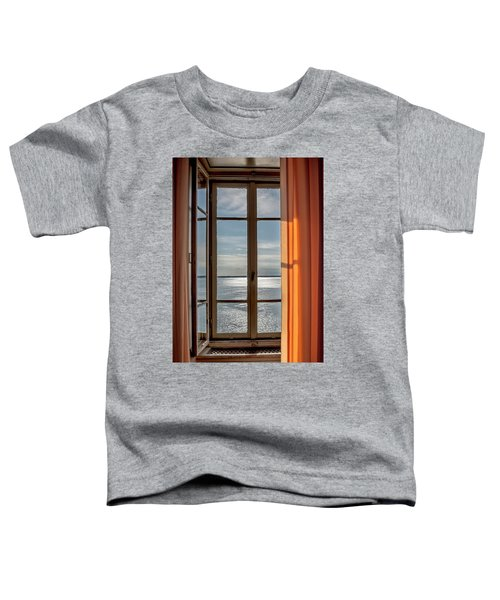 Window With A View Toddler T-Shirt