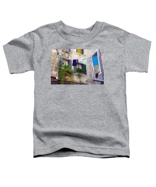 Windows Of Venice Toddler T-Shirt