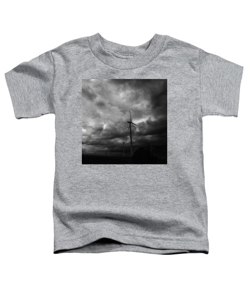 Windradwindig.  #windrad #monochrome Toddler T-Shirt