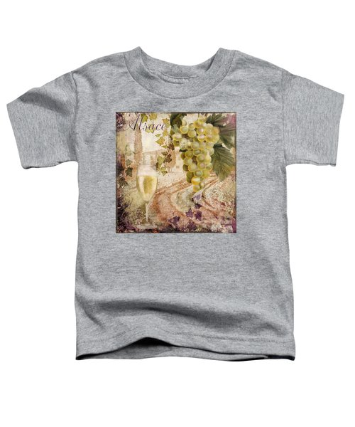 Wine Country Alsace Toddler T-Shirt
