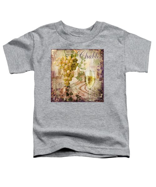 Wine Country Chablis Toddler T-Shirt