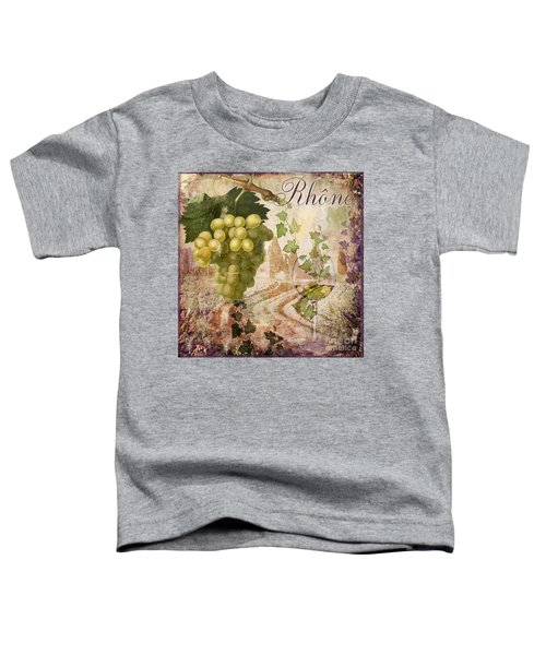 Wine Country Rhone Toddler T-Shirt