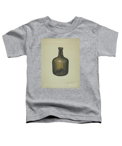 Wine Or Spirits Bottle Toddler T-Shirt